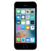 "Telefon Mobil Apple iPhone SE, Procesor Dual Core 1.84 GHz, LED-backlit IPS LCD Capacitive Touchscreen 4"", 2GB RAM, 32GB Flash, 12MP, Wi-Fi, iOS (Space Grey) + Cartela SIM Orange PrePay, 6 euro credit, 4 GB internet 4G, 2,000 minute nationale si internati"