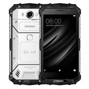 DOOGEE S60 Teléfono triple prueba 6 GB + 64 GB 5.2 pulgadas IP68 impermeable 5580 mAh batería Android 7.0 MTK Helio P25 Octa Core hasta 2.5 GHz WCDMA & GSM & FDD-LTE (plata)