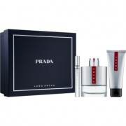 Prada Luna Rossa coffret VIII. Eau de Toilette 100 ml + Eau de Toilette 10 ml + bálsamo after shave 100 ml