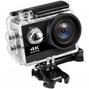 "Cámara Ultra HD 4 K/25fps WiFi 2,0 ""170D impermeable casco cámara de vídeo Cámara deportiva(#EU)"