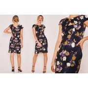 Zibi London Ltd £11.99 (from Zibi London) for a Zibi London dark floral cut out dress