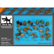 Black Dog - Set accesorii – echipament american Vietnam 1:35