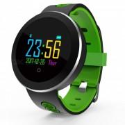 q8pro smart bracelet pantalla tactil a color reloj deportivo reloj de pulso control de la presion arterial - verde