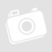 AMB.19402345 Fém szalvétatartó fekvő lunch, ezüst szives