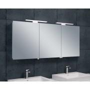 Wiesbaden Bright spiegelkast met LED verlichting 140x60