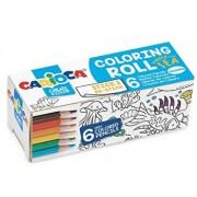 Carioca Coloring Roll Mini, 10 x 85 cm/rola, hartie autoadeziva - Under The Sea