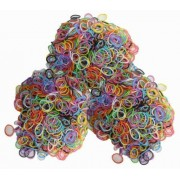 4,200 Mixed Rubber Band Color Bands With C And S Clip Combination