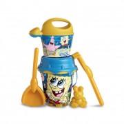 Spongya Bob homokozó készlet, locsolókannával