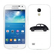 Husa Samsung Galaxy S4 Mini i9190 i9195 Silicon Gel Tpu Model Black Beetle