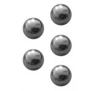 Ventilkugel 10mm Durchmesser Metall 5er Set