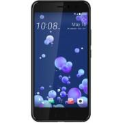"Telefon Mobil HTC U11, Procesor Octa-Core 2.45 GHz/ 1.90 GHz, Super LCD5 Capacitive Touchscreen 5.5"", 4GB RAM, 64GB Flash, 12MP, 4G, Wi-Fi, Dual Sim, Android (Brilliant Black) + Cartela SIM Orange PrePay, 6 euro credit, 4 GB internet 4G, 2,000 minute nati"