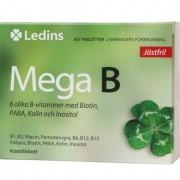 Ledins Mega B 60 tabletter