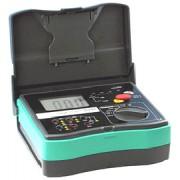 HOLDPEAK 5103 Digitális szigetelési ellenállás mérő 1000-5000VAC 0.1Mohm-20Gohm fázissorrend hordtáska.