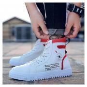 Hombre Zapatos Casual De Correr Fashion-cool-Rojo