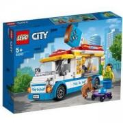 Конструктор Лего Сити - Камион за сладолед, LEGO City Great Vehicles 60253