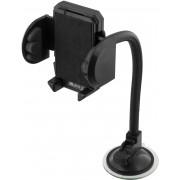 Deltaco Hållare svanhals för smartphone, svart