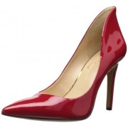 Jessica Simpson Women's Cambredge Dress Pump Lipstick 8.5 B(M) US
