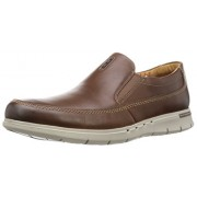 Clarks Men's Unbyner Easy Brown Leather Clogs and Mules - 6.5 UK/India (40 EU)
