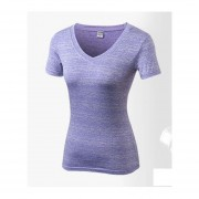 Mujeres Yoga Tops Gimnasio Aptitud T Camisas Deportivas Correr Tee