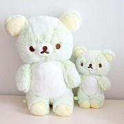 Large 30CM San-x Green Rilakkuma Plush Toy Doll Relax Bear Teddy Bears Soft Stuffed Animals Pillow for Girls Birthday
