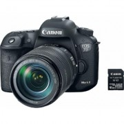 Canon EOS 7D Mark II w/ 18-135mm f/3.5-5.6 IS USM and Wi-Fi Adapter Kit