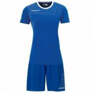 Uhlsport Match Dames Voetbaltenue Shirt met Shorts 100316806 - blauw - Size: 2X-Large