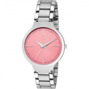 Lava Creation New Pink Stainless Steel Analog Watch For Women ( LA-Titan women-pink )