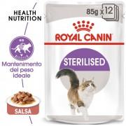 Royal Canin Sterilised in Salsa - 48 x 85 g