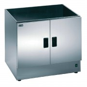 Lincat Silverlink 600 Heated Open Top Pedestal With Doors HC7