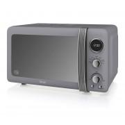 Swan Retro SM22030GRN Digital 20 L Microwave - Grey