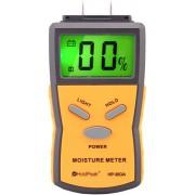 HOLDPEAK 883A Univerzális digitális nedvességmérő 5-40% beépített mérőcsúcs hord táska.