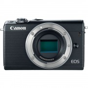 Canon EOS M100 Body Aparat Foto Mirrorless 24MP APSC Full HD Negru