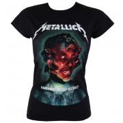 Majica ženska Metallica - Hardwired Album Cover - ATMOSPHERE - RTMTLGSBHAR