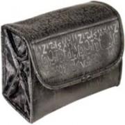 Roll N Go Travel Buddy Cosmetic Buddy Toiletry Bag (Black) Travel Toiletry Kit(Black)