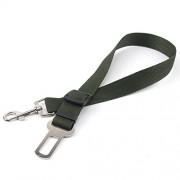 AST Works Pet Car Vehicle Seat Belt Safety Seatbelt Harness Leash Dog Adjustable Green WT