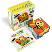 Genius Box Activity Learning Kit for Children Age 3+ Busy With Bugs Wooden Cube Puzzle