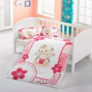 Lenjerie pat copii Baby Mally Kids 100 bumbac