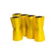 Kit: cinque rulliere centrali per rimorchi 190 mm Knott