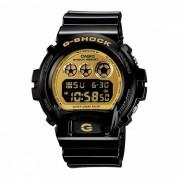 casio g-shock DW-6900CB-1 reloj digital con resistencia al agua de 200 metros con luz de fondo EL - negro + oro