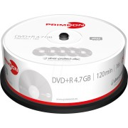 PRIM 2761223 - DVD+R 4.7GB/120Min, 25-er Cakebox
