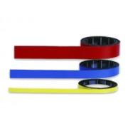 BANDA ADEZIVA MAGNETICA, colorata, 1000x10mm, 12610, MAGNETOPLAN portocaliu