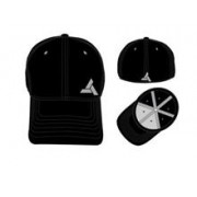 Sapca Assassins Creed Unity Abstergo Industries Logo Flex Fit Black