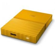 Портативен външен диск WD My Passport 1TB, Yellow - WDBYNN0010BYL