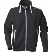 Printer Jog Sweatshirt 2262036 Zwart - Maat S