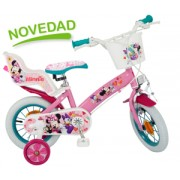 "Bicicleta 12"" Minnie Mouse"