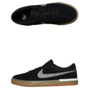 Nike Sb Hypervulc Eric Koston Suede Shoe Black
