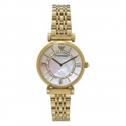 Armani orologi Ar1907 madreperla & tono oro Stainless Steel Ladies ...