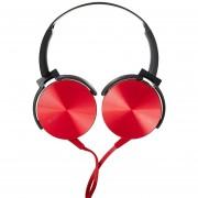 Audífonos Bluetooth Manos Llibres Inalámbricos, MDR-XB450AP HIFI Auriculares MP3 Estéreo Original Nuevo Auricular Con Micrófono (rojo)