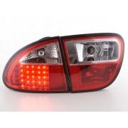 FK-Automotive fanale posteriore a LED per Seat Leon (tipo 1M) anno di costr. 1999-2005, rosso