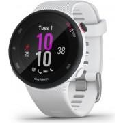 Sportski sat Garmin Forerunner 45S, GPS, za trčanje, senzor pulsa na zapešću, bijeli